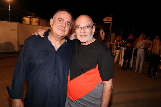 משה רוזנבלום עם דוד גולברי צילום ניר פקין