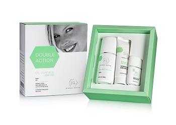 חברת HL- מארז דאבל אקשן לטיפול בעור שמן DOUBLE ACTION – 234 שח