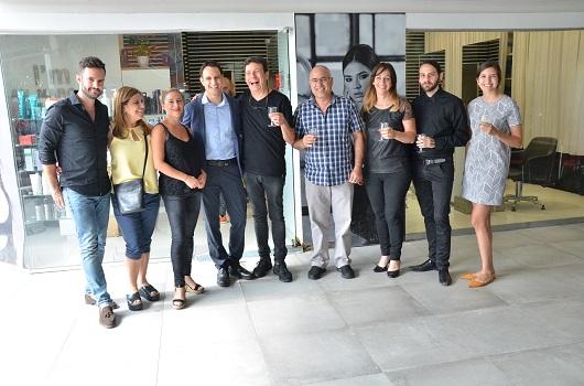 אילן מרגלית וחברי הנהלת לוריאל צילום צ'ינו