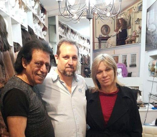 אמיר זהבי והזוג שימי תבורי ויהודית באומן