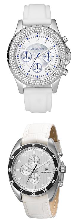 פדני מציגה שעונים ותכשיטים בלבן. צילום: גיא בוכלטר