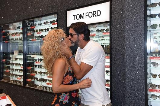ג'ובאני רוסו ומאיה פישל בחנות אירוקה צילום אלעד גוטמן