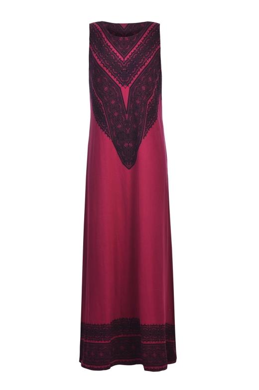 העין השלישית שמלת גולדי בורדו אפריקה עומר מסינגר ואסקף