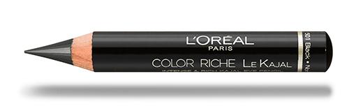 לוריאל פריז עיפרון במרקם איילנר עיניים  מחודד