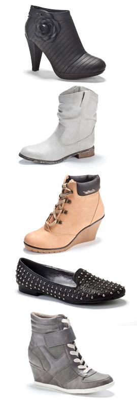 נעלי גלי בקולקציית חורף. צילום: דן לב