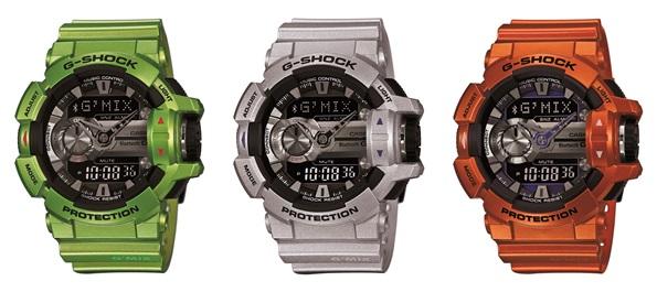 שעון ג'י- שוק , דגם 400 GBA- מחיר 1026 ₪