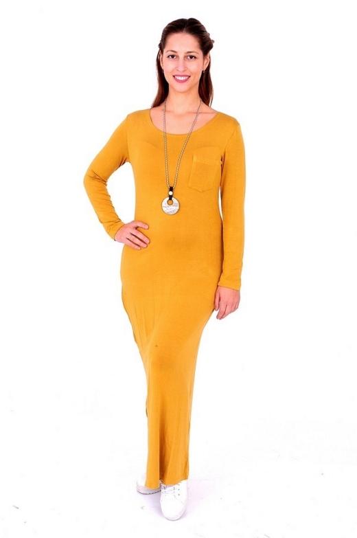 שמלת מקסי צהוב חרדל, 49 שח, להשיג ברשת קמדן אנד שוז צלם אושרי תורתי