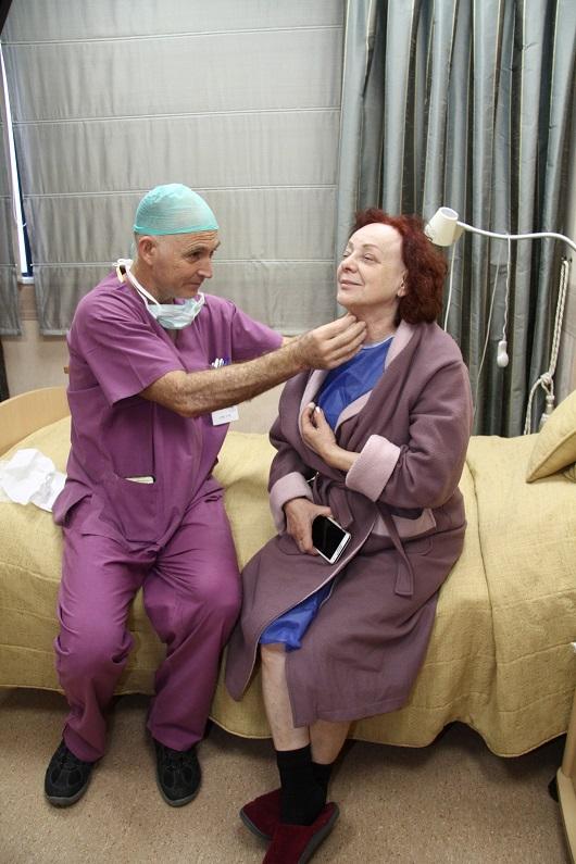 דקה לפני הניתוח צילום אסף לב