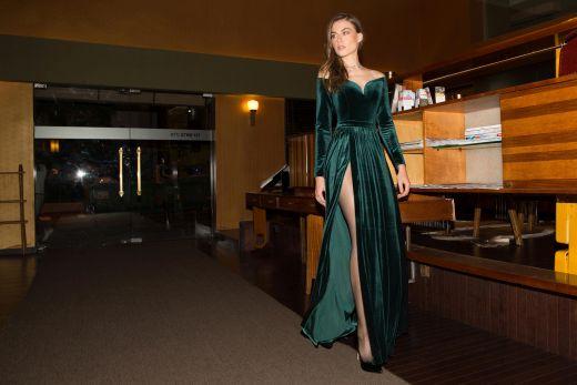 Isabella fw 2016-17 dress 699 nis photo Amir Tzuck Cus