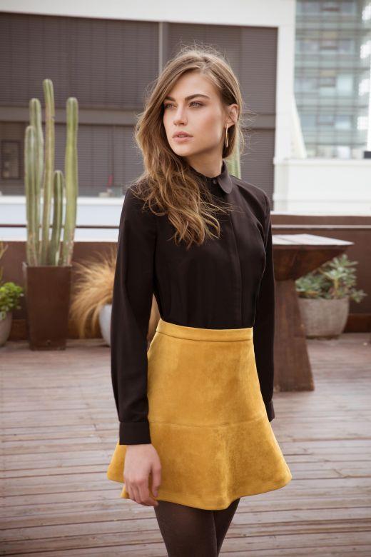 Isabella fw 2016-17 top 279 nis skirt 329 nis photo Amir Tzuck