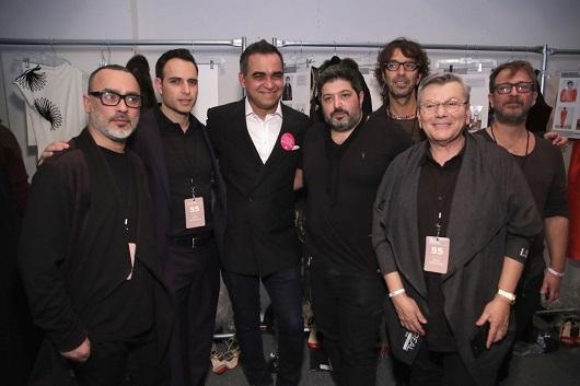 שגרירי לוריאל פרופסיונל בשבוע האופנה בניו יורק צילום גטי אימאג'