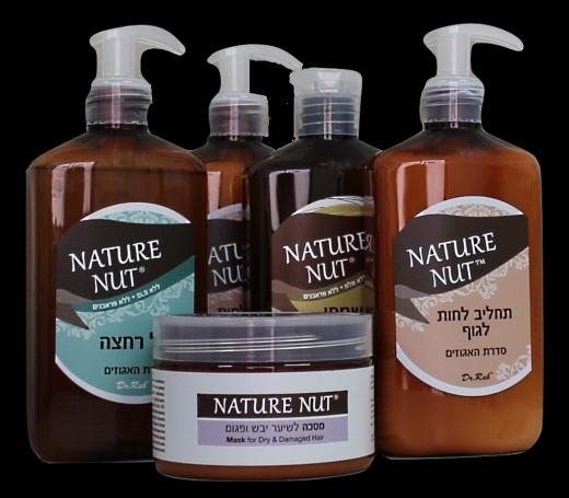 Nature Nut- סדרת טיפוח חדשה לגוף ולשיער