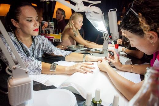 מימי ארנרייך ומיטל דה רזון  באירוע השקה OPI-קולקציית וושינגטון  צילום נמרוד ארונוב