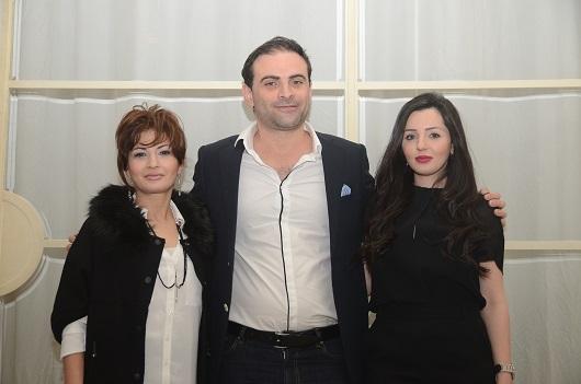 מימין לשמאל ימית חנני גבריאל חנני ודר שרית כהן צלם עדי שמיר
