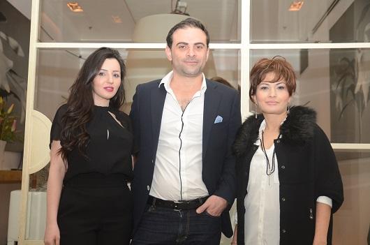 מימין לשמאל דר שרית כהן גבריאל חנני ואשתו ימית חנני צלם עדי שמיר (2)