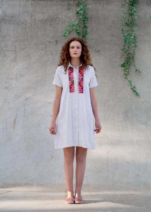 שמלה של המעצבת הודיה לוביץ, 280 שח לירידי החגים של SHEEK.ME, צלם חנן בר אסולין