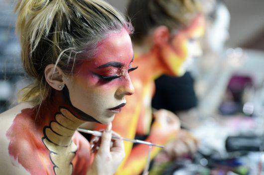 תערוכת היופי 2017 בלונדון