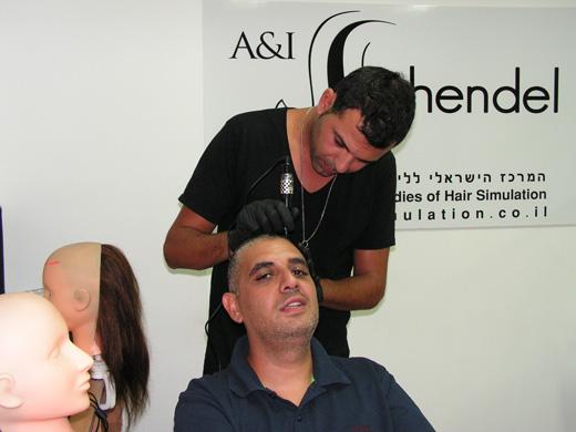עופר בן נון מירושלים עבר קורס הדמיית שיער