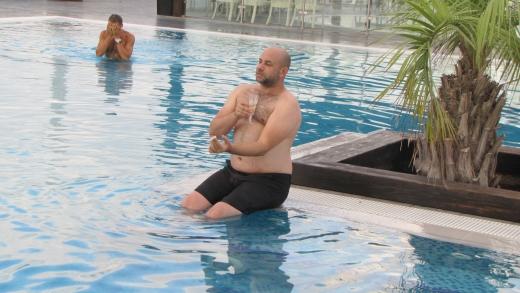 """יום הולדת שניאל קלדרון שחר במלון """"רמדה"""" נתניה צילום: יח""""צ"""