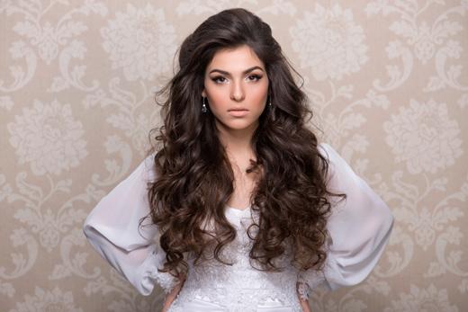 מעצב השיער אמיר אליהו מציג תסרוקות כלה 2014
