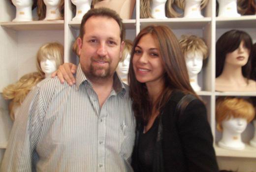מורן אטיאס עם אמיר זהבי