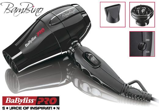 BaByliss Pro BAMBINO מייבש שיער קומפקטי