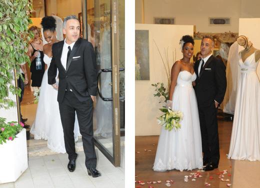 כברה קסאי התחתנה. צילום: ברק פכטר
