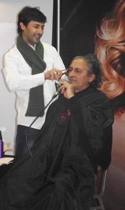 קארין גל CHI - אירוע מעצבי שיער בטבריה
