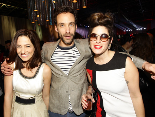 אפרת גוש, ירון בירנבויים ואפרת אברמוב - תצוגת אופנה קסטרו אביב קיץ 2013