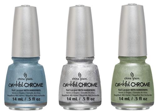 טרנד הכרום - crinkled chrome