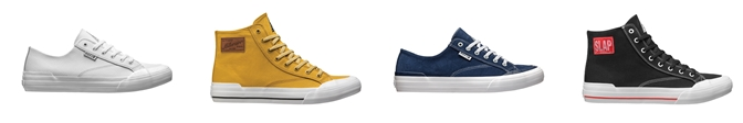 HUF לחנויות Jin-G נעליים דגם classic  צילום יחצ חול