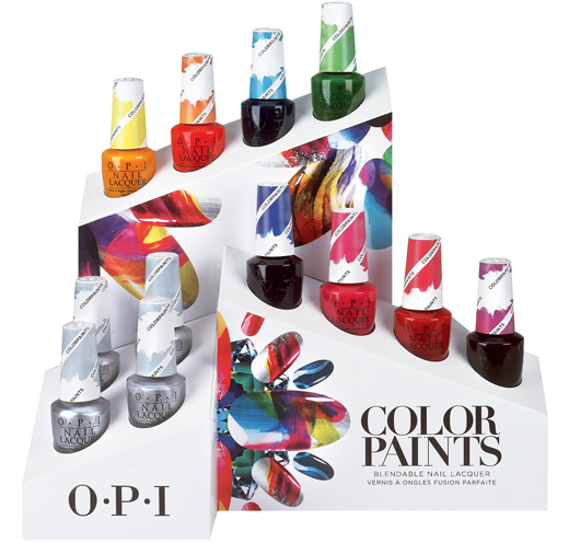 color paint's של opi