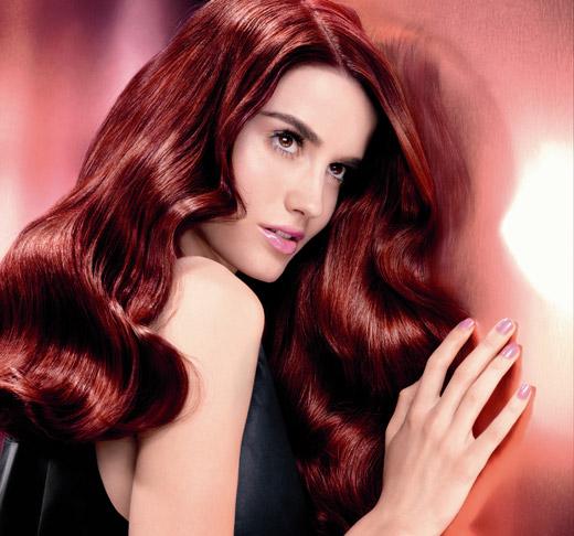 לוריאל פריז מציג צבע שיער אדום לקיץ 2013