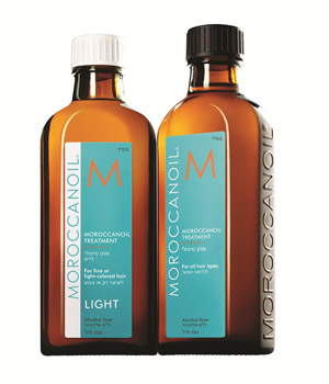 שמן טיפולי מסדרת מוצרי Moroccanoil®