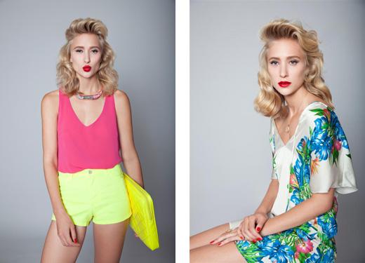 דפנה דה גרוט במגזין האופנה - טרנדי. צילום: דודי חסון