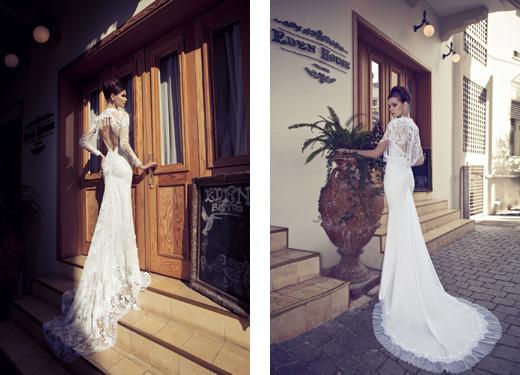 שמלות כלה קולקציית 2014 של המעצבת ריקי דלאל