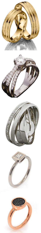 """רשת אימפרס מציגה את הטרנדים החמים בטבעות הנישואין. צילום: יח""""צ חול ואפרת אשל"""