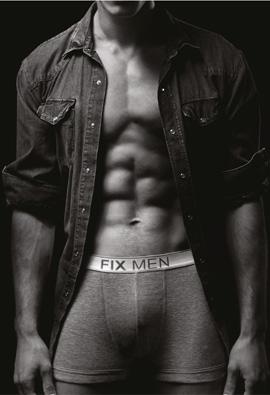 FIX MEN - קולקציית הלבשה תחתונה לגברים אביב קיץ 2012