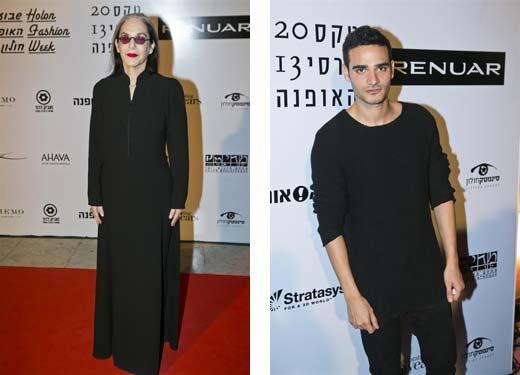 הזוכים בטקס פרסי האופנה הישראלי 2013