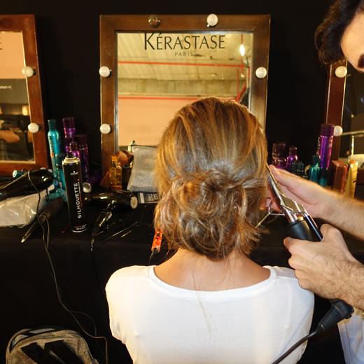 עיצוב שיער בתצוגו הגדולות בשבוע האופנה