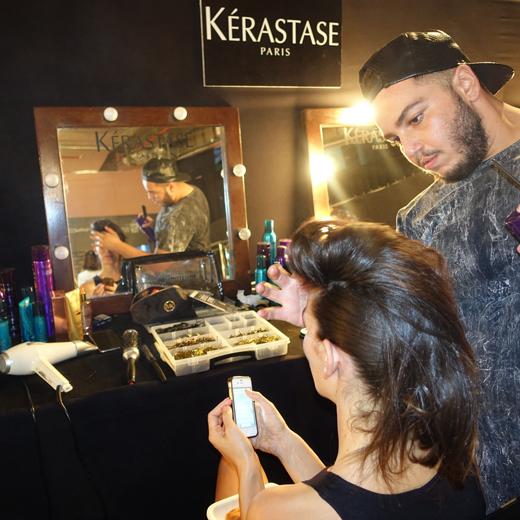 קרסטס פריז בחסות עיצובי השיער לשבוע האופנה