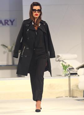 נטלי דדון - תצוגת אופנה קולקציית אביב קיץ 2013. צילום: אסף לב.