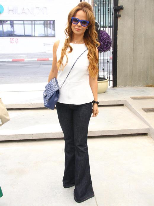 אירית רחמים - תצוגת אופנה קולקציית אביב קיץ 2013. צילום: אסף לב.