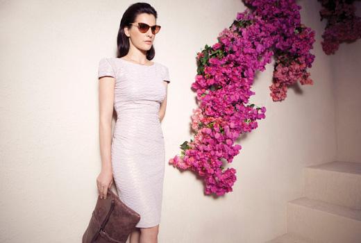 גולברי - שמלות ערב לעונת החתונות 2012. צילום: דודי חסון.