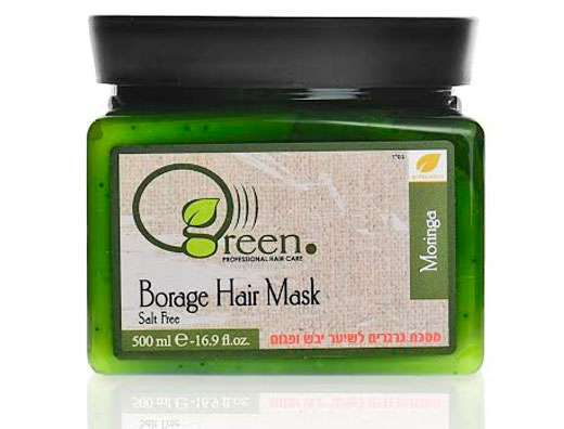 Green hair care  מסכת גרגרים