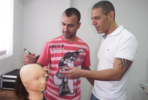 עדי שנדל ושלומי בן דוד - השתלמות הדמיית זקיקי שיער
