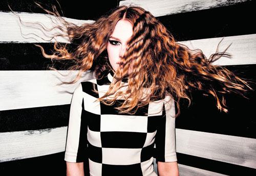 עיצוב שיער : משה אוזן מפתח תקווה ל'אינדולה'   צילום: רון קדמי