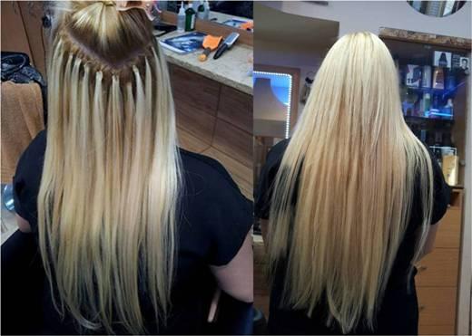 הארכת שיער שזירת שיער בחיפה והצפון - רמי מזרחי