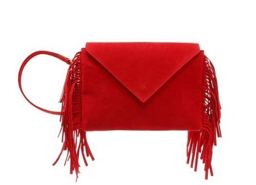 תיק קלאץ אדום פרנזים 220שח צילום יחצ חול