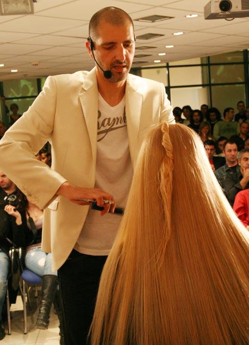 מעצב השיער אילן עמית לוקא